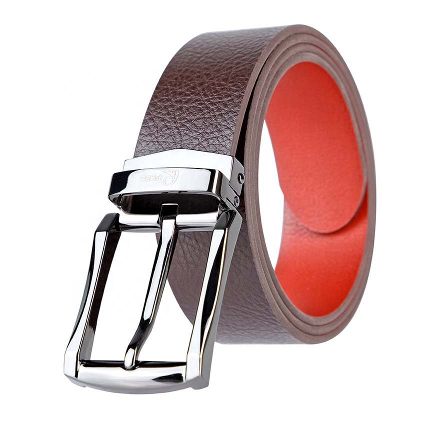 High Quality Different Color Wholesale Fashion Imitation Genuine Pure Italian Leather Man Belt
